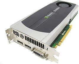 HP 671138-001 NVIDIA Quadro 5000 PCIe graphics card - With 2.5GB GDDR5 GPU memory, max resolution 2560x1600, one Dual Link...