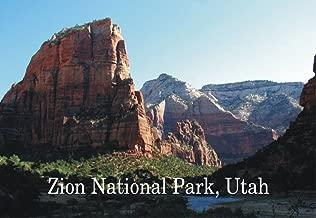 Zion National Park, Utah, Mountains, National Monument, Souvenir 2 x 3 Photo Fridge Magnet