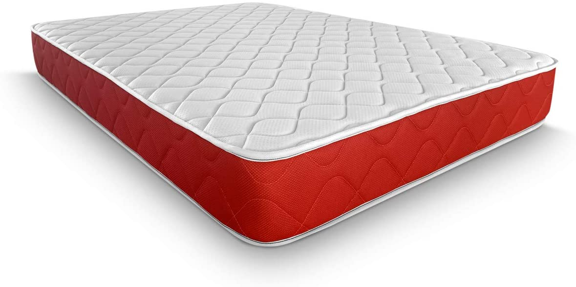 Duérmete Online - Colchón Viscoelástico Lite Reversible   Firme y Confortable   Muy Transpirable   Cara Invierno / Verano   90x180