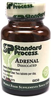 Standard Process- Adrenal Desiccated / Adrenal Support for Energy Production, Immune System Function and Adrenal Health, G...