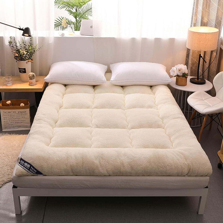 Folding Tatami Mattress, Thickened Mattress Topper Dampproof Keep Warm Anti-skidding Soft Ground Floor Sleeping pad-B 120x200cm(47x79inch)