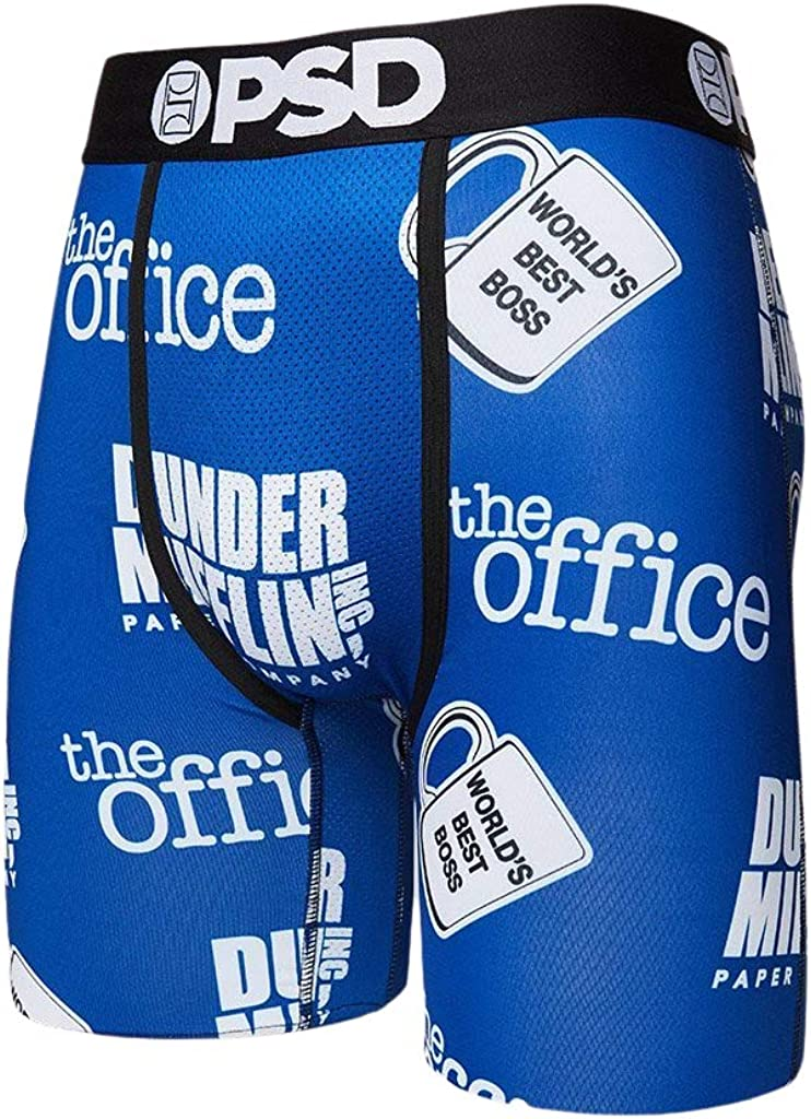 PSD Men's The Office Dunder All Over Print Boxer Briefs