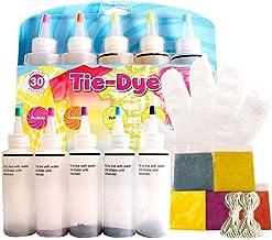 One-step Tie-Dye Kit Stof Textielverven Tie Dye Kit DIY Kleding Graffiti Dye Feestartikelen voor Family Entertainment 5 Kl...