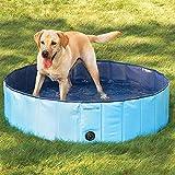 [mia.home®]Doggy Pool Hundepool Swimmingpool für Hunde 80/120/160 CM (120x30cm)