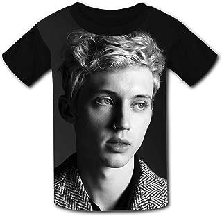 QIANBAIHUI Kids Youth Handsome Boy 3D Printed Crew Neck T-Shirt Tees