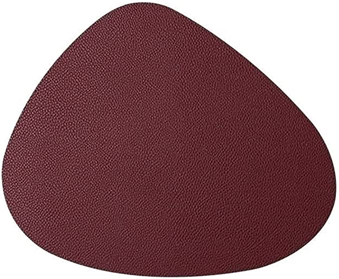 Amazon.com: XWYZY Placemats, Placemat Tableware Pad Oil Water Resistant Heat Insulation Non-Slip Tablemat Coaster Set for Kitchen Washable Cup (Color : Red Wine, Size : 11x13cm) : Home & Kitchen
