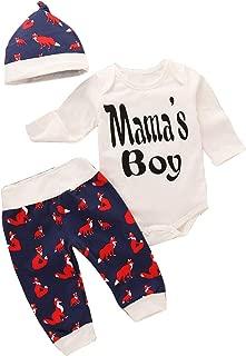 Gaga city Pijamas Cortos de Dos Piezas Algod/ón Verano Conjunto de Pijamas para Beb/és 0-48 Meses