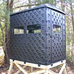 Snap Lock Formex 4x6 Portable Deer Hunting Blind with Shelf and Window Included