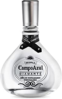 Tequila Campo Azul Diamante Añejo Cristalino 100% Agave 750 Ml