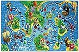 Treasure Island Juego de mesa Rompecabezas para adultos 1000 piezas Rompecabezas de madera Rompecabezas educativo intelectual Descomprimiendo divertido juego para adultos y niños