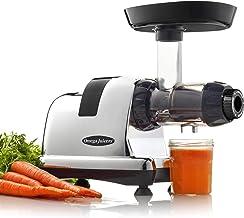 Omega J8228 Cold Press Juicer – Nutrition Centre, Quiet Dual-Stage Slow Masticating Juicer, Fruit & Vegetable Juice, 80 RP...