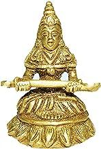 Annapurna Devi Idol in Brass / Annapoorna Devi Statue / Hindu Religion God Sculpture