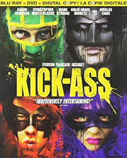 Kick-Ass (Bilingual) [Blu-ray + DVD + Digital Copy] (B003LSTWES) | Amazon price tracker / tracking, Amazon price history charts, Amazon price watches, Amazon price drop alerts