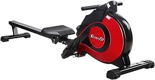 Everfit Rowing Machine Adjustable Magnetic Resistance System Rower 8/10 Levels Resistance 3kg/5kg Flywheel 150kg/200kg Cap...