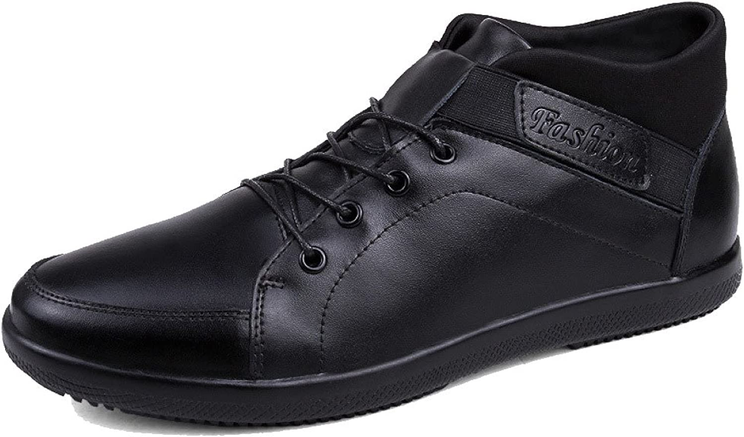 DHFUD Men's Spring Fashion Casual Sports Outdoor Leather shoes