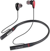 Modernista PowerBass 200 Bluetooth 5.0 Wireless Neckband Headphones with Extra Bass, Passive Noise Cancellation, 24hrs...