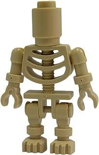 LEGO Ninjago- Bowling Pin Tan Skeleton Minifigure