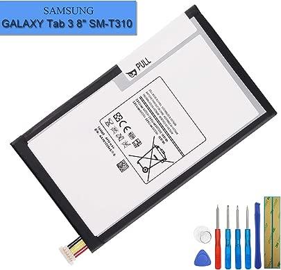 Neuer Ersatzakku T4450E T4450C Kompatibel mit Samsung Galaxy Tab 8 0 SM-T3110 Galaxy Tab 8 0 SM-T330 SM-T335 SM-T337V Tools Schätzpreis : 23,80 €