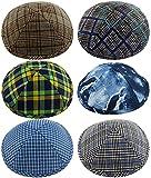 Pack of 6-Pcs - Hq 19cm - Big Size - Mix Colors Kippah for Boys and Kids, Yamaka Hat from Israel - Kippot Bulk - Set 3