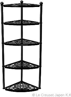 ル・クルーゼ(Le Creuset)  鋳物 ホーロー 鍋  ポットスタンド   マットブラック ガス IH オーブン 対応  【日本正規販売品】