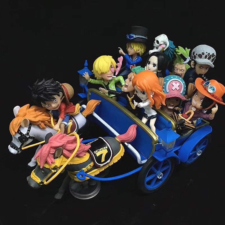 Toy Statue Toy Modell Cartoon Character Souvenir Dekoration Geburtstagsgeschenk SHWSM (Farbe   Blau)
