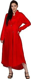 RADANYA Indian Dress Womens Girls Ethnic Straight Kurta Front Casual Wear Tunic S-XXL