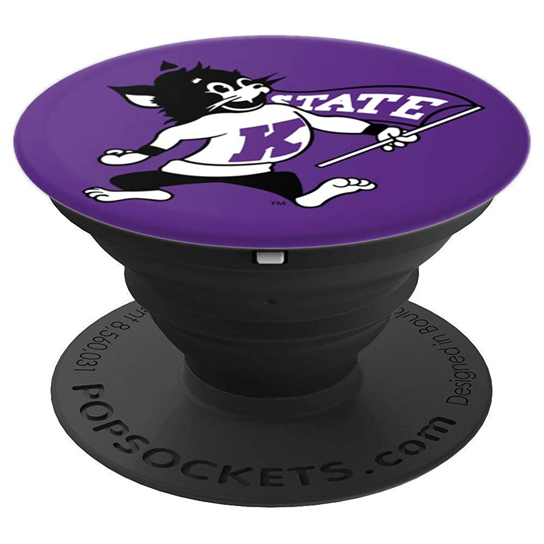 Kansas State University Collapsible Grip & Stand RYKLSU06 - PopSockets Grip and Stand for Phones and Tablets