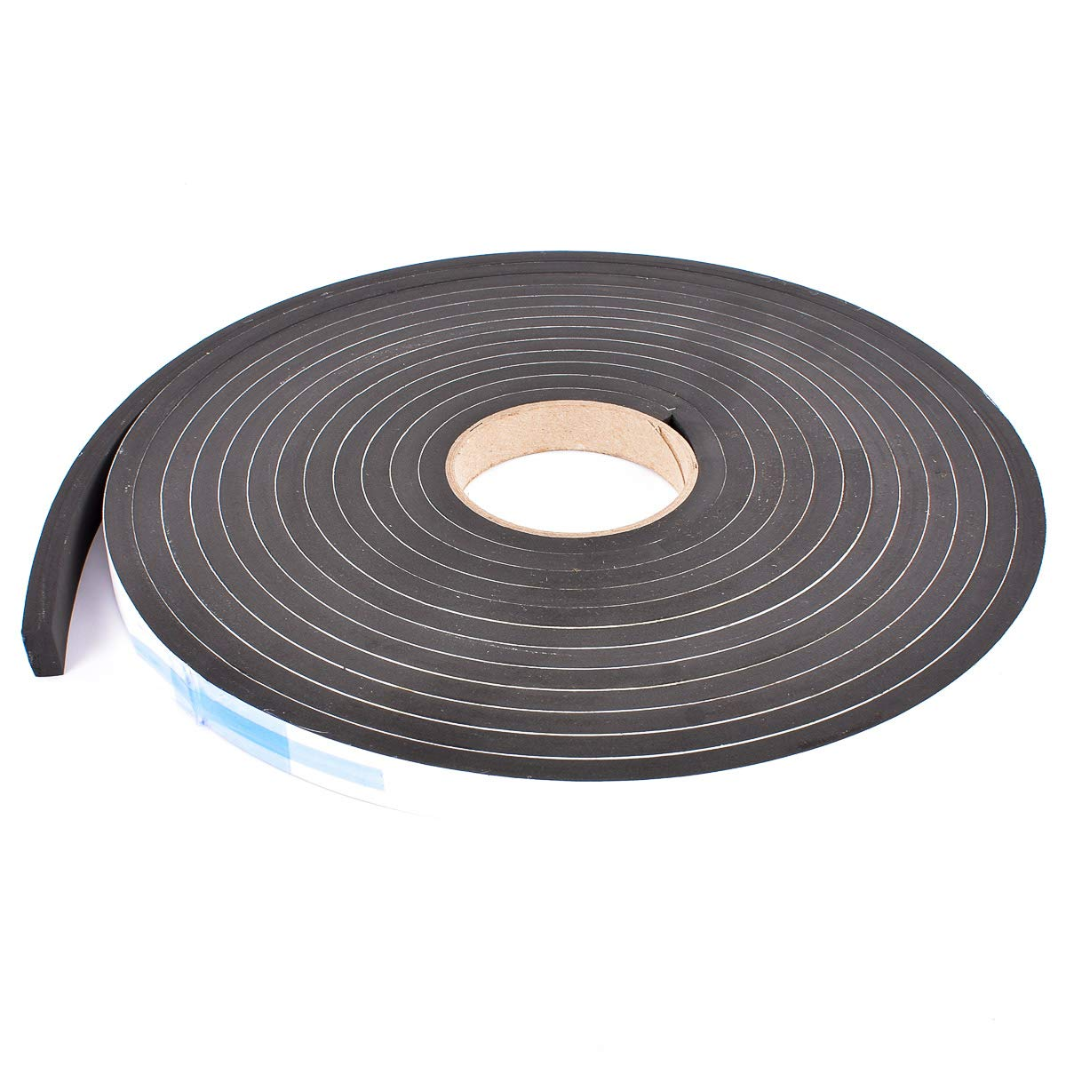 Sponge Minneapolis Mall Neoprene Max 65% OFF Stripping W Adhesive 3 8in Thick Wide 4in X
