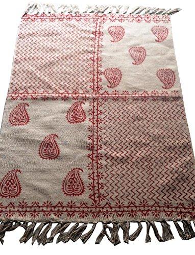 silkroude Tapis persan imprimé kilim marocain turc kilim dhurrie