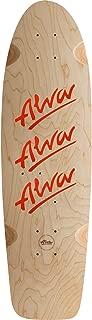 Alva 1979 Tri-Logo Skateboard Deck -10x30 Natural/Red W/Grip - Assembled AS Complete Skateboard