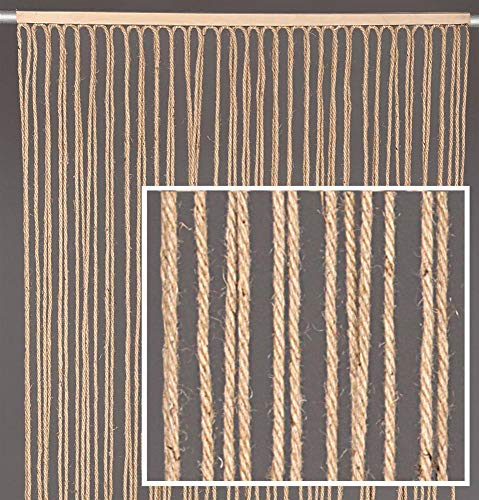DISRAELI Tenda in Corda di Juta 120x240/72 cm