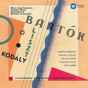 Kodály: Duo for Violin and Cello - Bartók: Contrasts - Liszt: Concerto pathétique (Live at Saratoga Performing Arts Center, 1998)