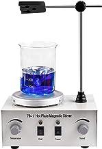 1000ml Adjustable Magnetic Stirrer, Hotplate Mixer Heat Plate with Stir Bar for Laboratory 79-1 110V