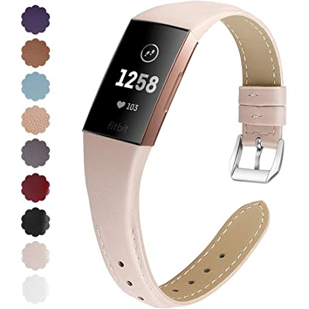 Small Men VNCAS Metal Bands Compatible with Fitbit Charge 4// Charge 3// Charge 3 SE for Women Stainless Steel Mesh Band Replacement for Fitbit Charge 3// Charge 4 Fitness Tracker Rose Gold