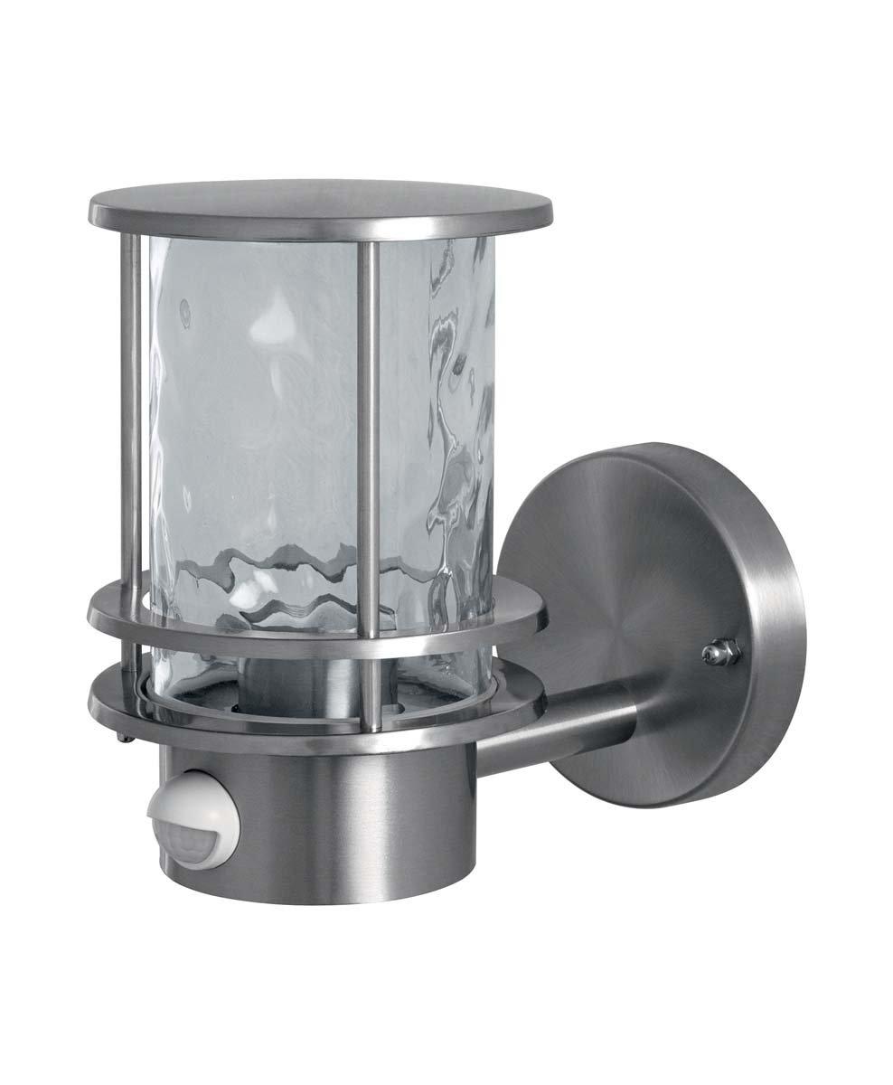 Osram lámpara LED exterior, acero