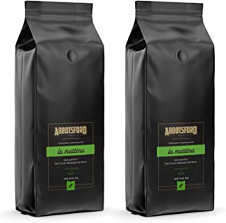 Sponsored Ad - Abbotsford Road Premium Ground Coffee, LA MATTINA, Medium Dark Roast, Hints of Cacao, Molasses and Spices, ...