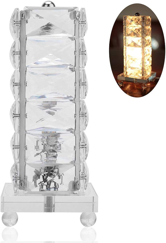 High-End-K9 Kristall Tischlampe Warme Schlafzimmer Nachttischlampe Luxus Studie Tischlampe