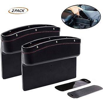 Black OYADM Seat Gap Filler,Car Seat Storage Box for Jeep 2Pack