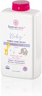 Forever New Baby Hypoallergenic Biodegradable Liquid Detergent – Fragrance Free, 32 fl oz.