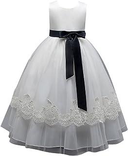 子供ドレス キッズドレス ワンピース 女の子 女児 ガールズ フォーマル 発表会 結婚式 入園式 演奏会 花嫁  リボン飾り