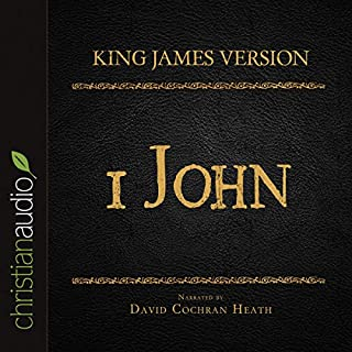 Holy Bible in Audio - King James Version: 1 John audiobook cover art
