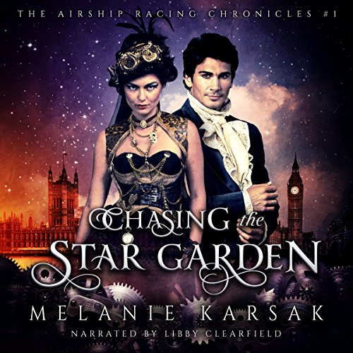 Chasing the Star Garden audiobook cover art