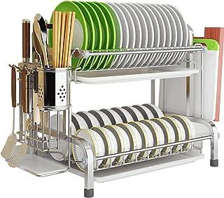 Rangement et Organisation de Cuisine, Support à vaissalle, Drainage, Jolie et Pratique, Robuste et Durable, Grande capacit...