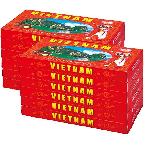ベトナム 土産 ベトナム マカデミアナッツチョコレート 12箱セット (海外旅行 ベトナム お土産)