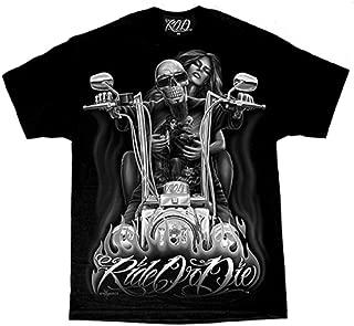 Men's David Gonzales Art DGA My Old Lady Ride Or Die T Shirt