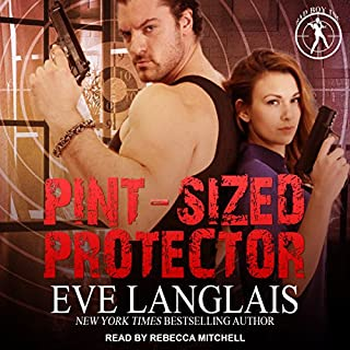 Pint-Sized Protector     Bad Boy Inc., Book 2              Written by:                                                                                                                                 Eve Langlais                               Narrated by:                                                                                                                                 Rebecca Mitchell                      Length: 8 hrs and 23 mins     1 rating     Overall 4.0
