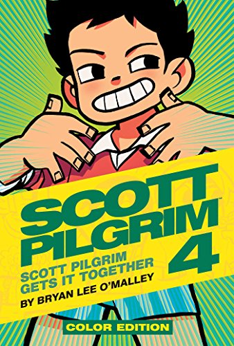 Scott Pilgrim Color Hardcover Volume 4: Scott Pilgrim Gets it Together