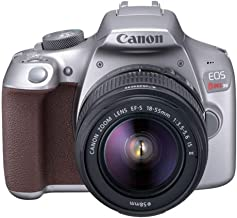$399 » Canon EOS Rebel T6 Digital SLR Camera Kit with EF-S 18-55mm f/3.5-5.6 is II Lens (Limited Edition Metallic Gray)