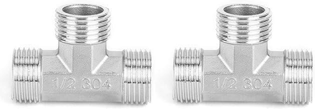Eenvoudig te installeren pijpverbinding, T-connector, G1 / 2in buitendraad voor bouwmaterialen Hardware sanitair Gas