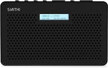 Smith-Style Gemini FM DAB Digital Radio with Sleep Timer Portable Radio, LCD Screen & Headphone Jack - DAB Radio/FM Radio/...